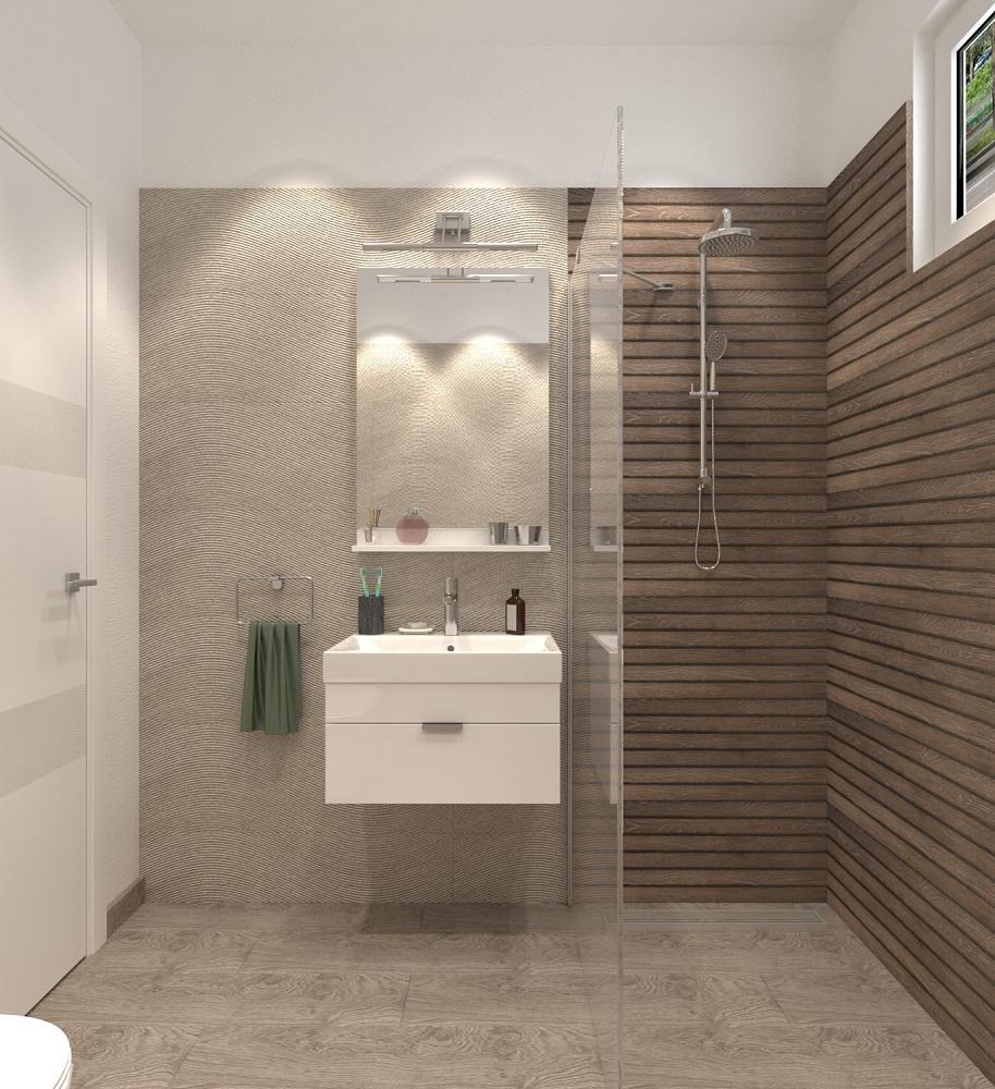 Idei de design interior baie for Amenajare baie garsoniera